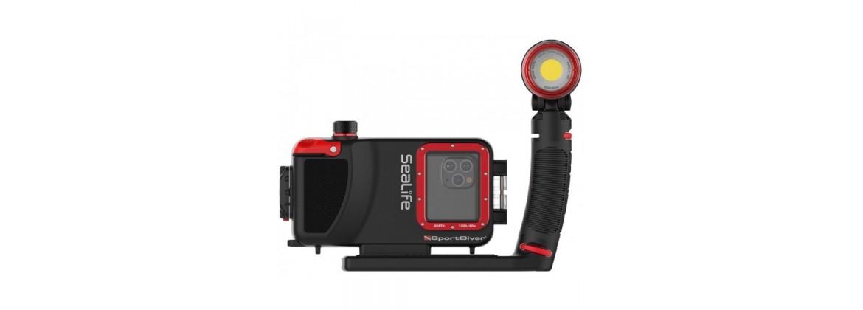 Cameras video et appareils photo de plongee sous marine étanches